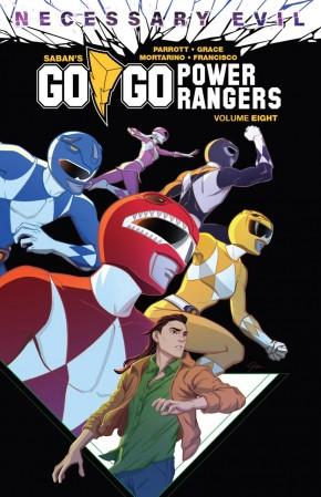 GO GO POWER RANGERS VOLUME 8 GRAPHIC NOVEL