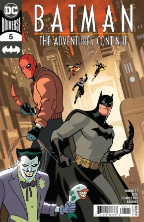 BATMAN THE ADVENTURES CONTINUE #5