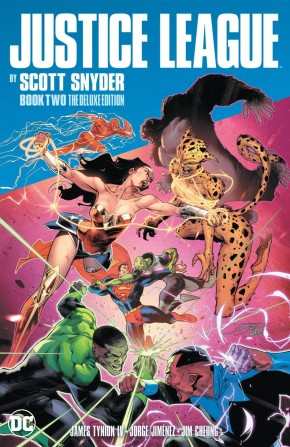 JUSTICE LEAGUE BY SCOTT SNYDER DELUXE EDITION BOOK 2 HARDCOVER