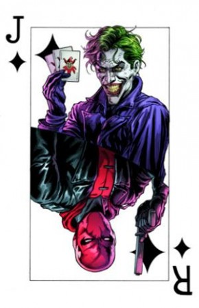 BATMAN THREE JOKERS #3 SOUVENIR PLAYING CARD
