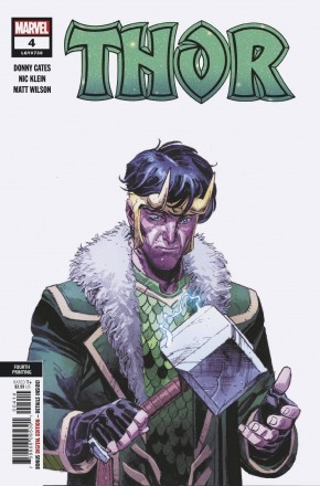 THOR #4 (2020 SERIES) 4TH PRINTING FIRST CAMEO APPEARANCE OF BLACK WINTER