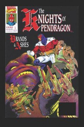 KNIGHTS OF PENDRAGON OMNIBUS HARDCOVER ALAN DAVIS FIRST SERIES COVER