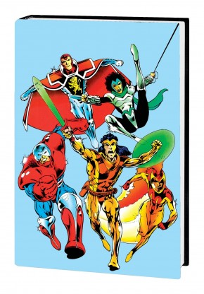 KNIGHTS OF PENDRAGON OMNIBUS HARDCOVER ALAN DAVIS SECOND SERIES COVER