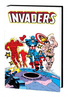 INVADERS OMNIBUS HARDCOVER FRANK ROBBINS COVER