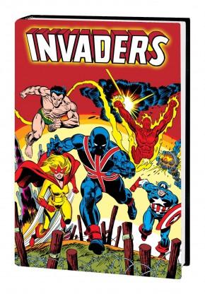 INVADERS OMNIBUS HARDCOVER GIL KANE DM VARIANT COVER