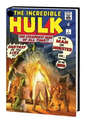 INCREDIBLE HULK OMNIBUS VOLUME 1 HARDCOVER ALEX ROSS COVER