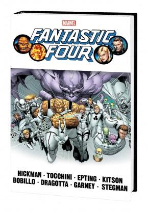 FANTASTIC FOUR BY JONATHAN HICKMAN OMNIBUS VOLUME 2 HARDCOVER GIUSEPPE CAMUNCOLI COVER