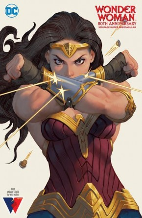 WONDER WOMAN 80TH ANNIVERSARY 100-PAGE SUPER SPECTACULAR #1 COVER B WILL MURAI FILM INSPIRED