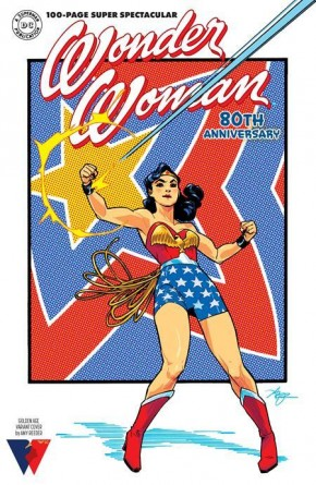 WONDER WOMAN 80TH ANNIVERSARY 100-PAGE SUPER SPECTACULAR #1 COVER F AMY REEDER GOLDEN AGE