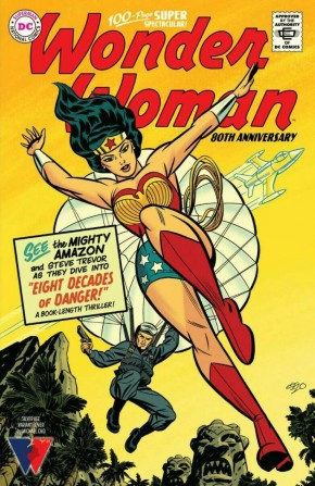 WONDER WOMAN 80TH ANNIVERSARY 100-PAGE SUPER SPECTACULAR #1 COVER G MICHAEL CHO SILVER AGE
