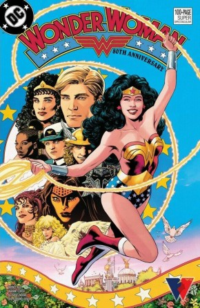 WONDER WOMAN 80TH ANNIVERSARY 100-PAGE SUPER SPECTACULAR #1 COVER H TRAVIS MOORE BRONZE AGE