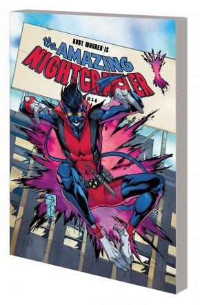AGE OF X-MAN AMAZING NIGHTCRAWLER GRAPHIC NOVEL