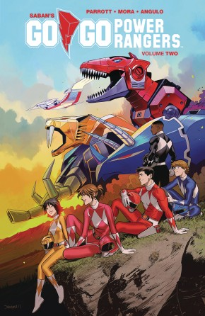 GO GO POWER RANGERS VOLUME 2 GRAPHIC NOVEL