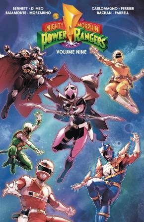 MIGHTY MORPHIN POWER RANGERS VOLUME 9 GRAPHIC NOVEL