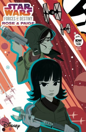 STAR WARS ADVENTURES FORCES OF DESTINY ROSE AND PAIGE