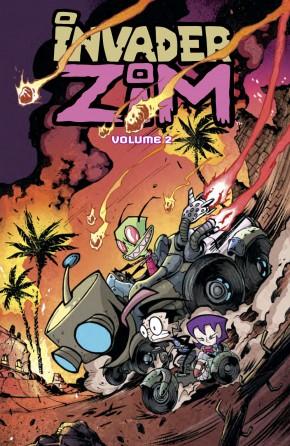 INVADER ZIM VOLUME 2 GRAPHIC NOVEL