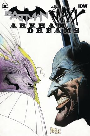 BATMAN THE MAXX ARKHAM DREAMS HARDCOVER