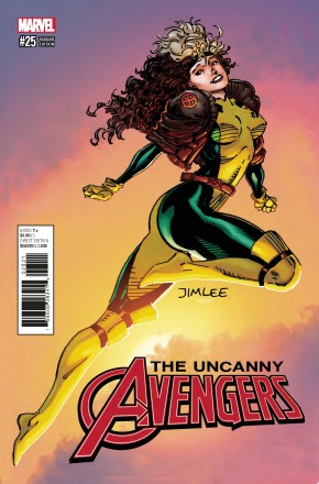 UNCANNY AVENGERS #25 (2015 SERIES) X-MEN CARD VARIANT COVER