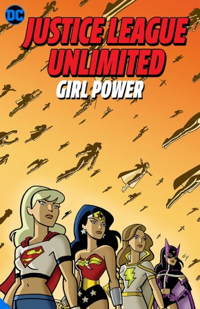 JUSTICE LEAGUE UNLIMITED GIRL POWER GRAPHIC NOVEL