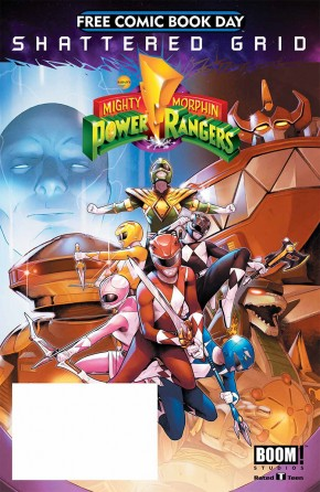 FCBD 2018 BOOM MIGHTY MORPHIN POWER RANGERS SPECIAL