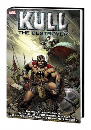 KULL THE DESTROYER THE ORIGINAL MARVEL YEARS OMNIBUS HARDCOVER PAULO SIQUEIRA COVER