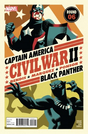 CIVIL WAR II #6 MICHAEL CHO VARIANT COVER