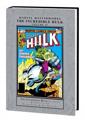 MARVEL MASTERWORKS INCREDIBLE HULK VOLUME 15 HARDCOVER