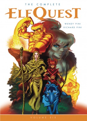 THE COMPLETE ELFQUEST VOLUME 6 GRAPHIC NOVEL