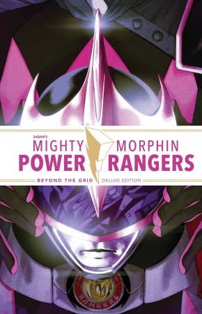 MIGHTY MORPHIN POWER RANGERS BEYOND THE GRID DELUXE EDITION HARDCOVER