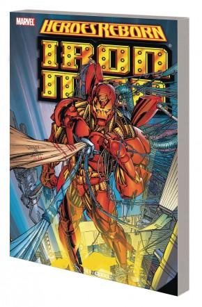 HEROES REBORN IRON MAN GRAPHIC NOVEL (NEW PRINTING)