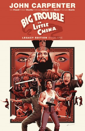 BIG TROUBLE IN LITTLE CHINA LEGACY EDITION VOLUME 1 GRAPHIC NOVEL