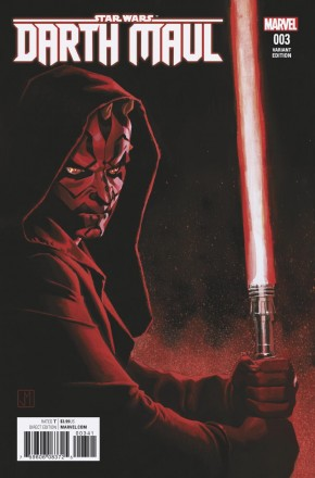 STAR WARS DARTH MAUL #3 (2017 SERIES) MOLINA 1 IN 25 INCENTIVE VARIANT COVER