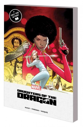 DAUGHTERS OF THE DRAGON MPGN GRAPHIC NOVEL