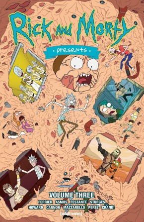 RICK AND MORTY PRESENTS VOLUME 3 GRAPHIC NOVEL