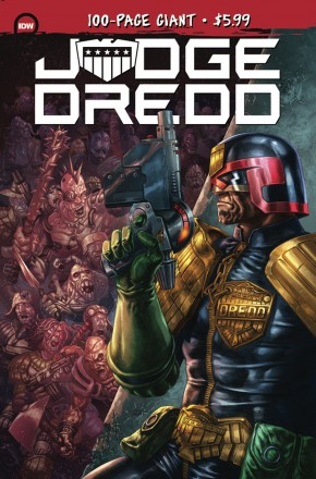 JUDGE DREDD 100 PAGE GIANT