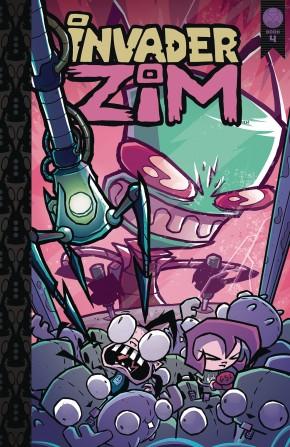 INVADER ZIM VOLUME 4 HARDCOVER