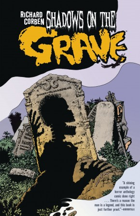 SHADOWS ON THE GRAVE HARDCOVER