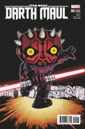 STAR WARS DARTH MAUL #5 OLORTEGUI FUNKO 1 IN 25 INCENTIVE VARIANT