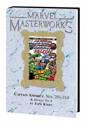 MARVEL MASTERWORKS CAPTAIN AMERICA VOLUME 11 DM VARIANT #277 EDITION HARDCOVER
