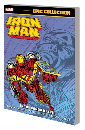 IRON MAN EPIC COLLECTION IN THE HANDS OF EVIL GRAPHIC NOVEL