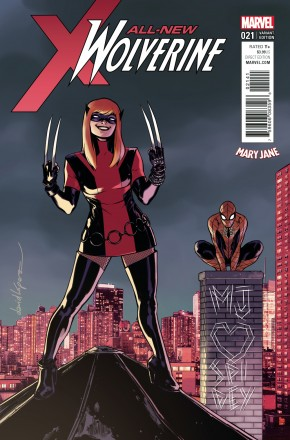 ALL NEW WOLVERINE #21 LOPEZ MARY JANE VARIANT COVER