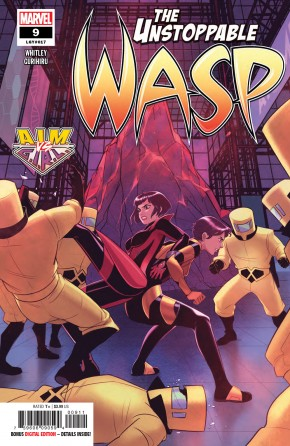UNSTOPPABLE WASP #9 (2018 SERIES)