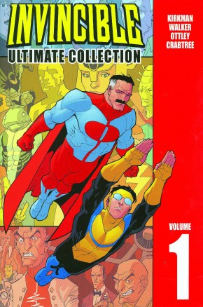 INVINCIBLE VOLUME 1 ULTIMATE COLLECTION HARDCOVER
