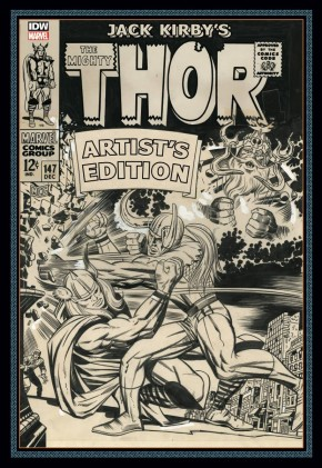 JACK KIRBY MIGHTY THOR ARTIST EDITION HARDCOVER