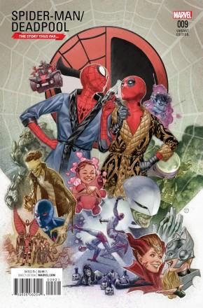 SPIDER-MAN DEADPOOL #9 TEDESCO STORY THUS FAR VARIANT