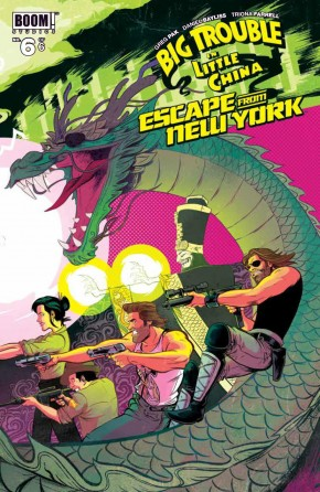 BIG TROUBLE IN LITTLE CHINA ESCAPE FROM NEW YORK #6