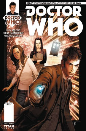 DOCTOR WHO 10TH YEAR TWO #13