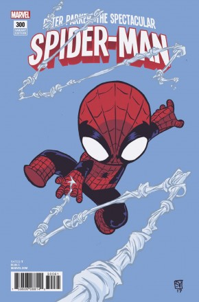 PETER PARKER SPECTACULAR SPIDER-MAN #300  (2017 SERIES) YOUNG VARIANT