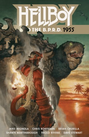 HELLBOY AND THE BPRD 1955 GRAPHIC NOVEL