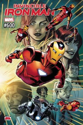 INVINCIBLE IRON MAN #600 (2016 SERIES)